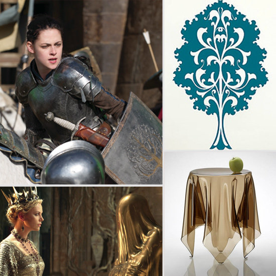 Heavy Metal, Luxe Leather, and Seductive Stones: Decor Inspiration From Snow White and the Huntsman