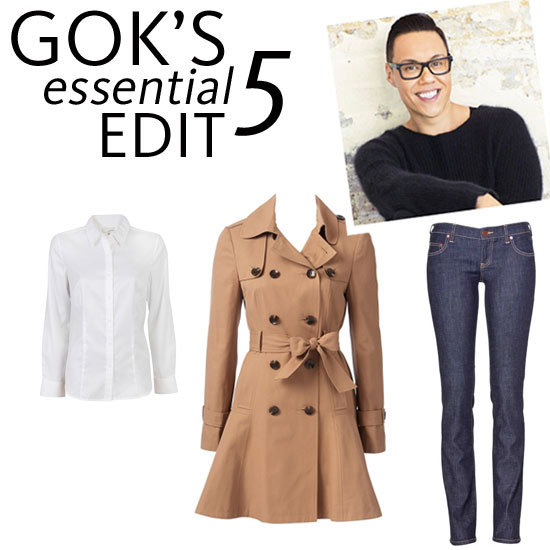 Shop Gok's Top Five Edit for Your Essential, Classic Wardrobe