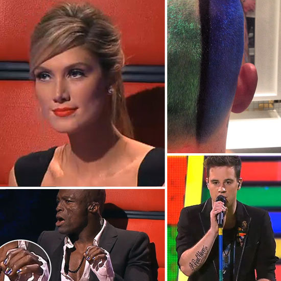 The Most Memorable Beauty Moments From The Voice: Live Show 2