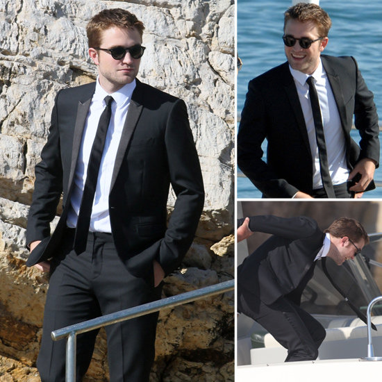 Check Out Sexy Robert Pattinson Boarding a Boat in His Tux