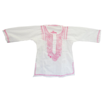Cerulean Children's Kurta in Pink ($24)