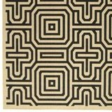 Add a layer under your patio table with this geometric Outdoor Maze Rug ($125 and up).