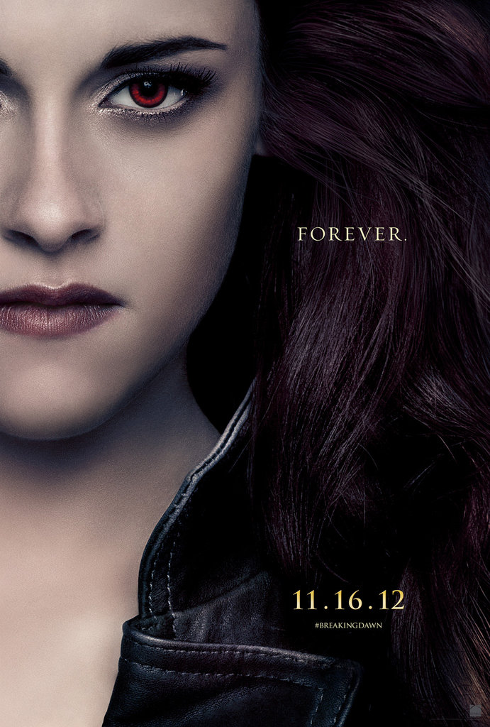 Kristen Stewart as Bella in Breaking Dawn Part 2.