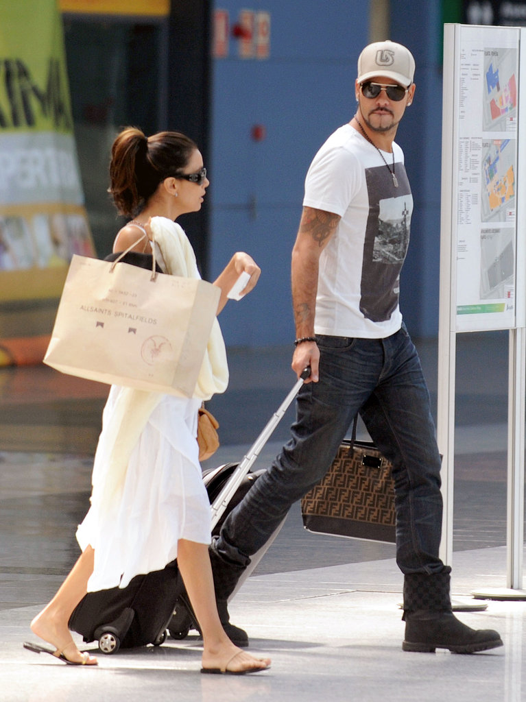 Eva Longoria and Eduardo Cruz walked together in Spain.