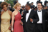 Nicole Kidman and Lee Daniels caught up while posing for photos at the premiere of The Paperboy in Cannes.