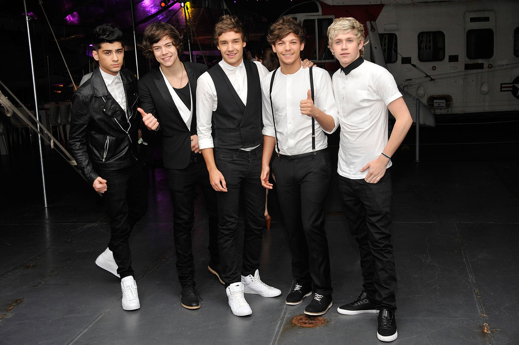 One Direction partied at the after party for Men in Black III in NYC.