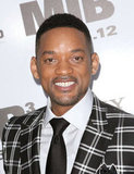 Will Smith showed his pearly whites at the Men in Black III premiere in NYC.