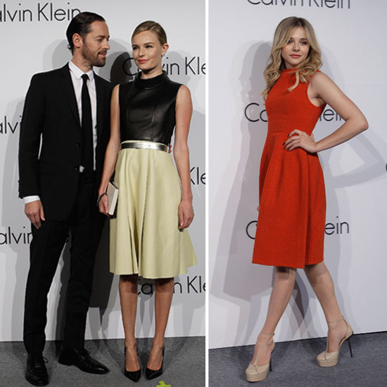 Kate Bosworth and Michael Polish Couple Up For a Calvin Klein Event