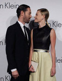Kate Bosworth and Michael Polish were acting cute on the carpet at the Calvin Klein Collections event in South Korea.