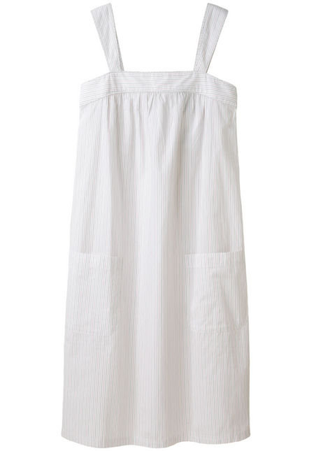 This sweet Summer dress can go straight from work to weekend (or vice versa).  A.P.C. Striped Cotton Sundress ($225)