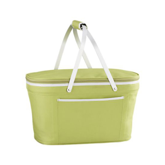 This Collapsible Picnic Basket ($35) is a perfect option for a camping adventure. Just pack up this small cooler if you're going off site for the day.