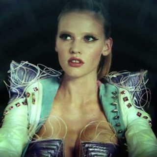 "Lara Stone in Hot Chip ""Night and Day"" Video"
