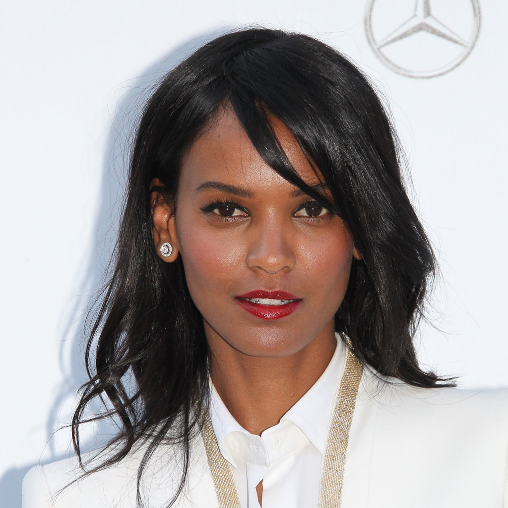 Liya Kebede at the amfAR Gala