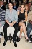 Jennifer Lawrence and Nicholas Hoult Sit Front Row at a Monaco Fashion Show