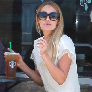 Lauren Conrad Starbucks in LA Pictures
