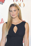 Bar Refaeli looked stunning in black at the Maxim Hot 100 List party in NYC.