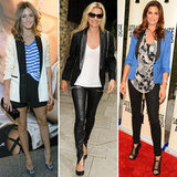 Celebs take the tuxedo blazer from day to night, and so can you.