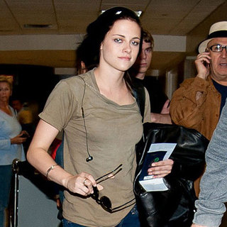 Kristen Stewart Leaves Cannes and Returns to LA Pictures