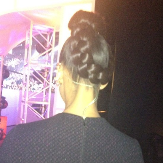 Alicia Keys wore the mother of all braids.