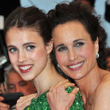 Sarah Margaret Qualley and Andie McDowell at the Closing Ceremony and Therese Desqueyroux Premiere