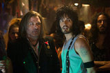 Russell Brand and Alec Baldwin in Rock of Ages. Photos courtesy of Warner Bros.