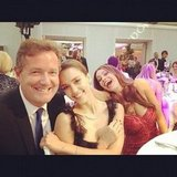 Jessica Alba was photo-bombed by Sofia Vergara while posing for a photo with Piers Morgan at the Glamour UK Women of the Year Awards. Source: Instagram user jessicaalba