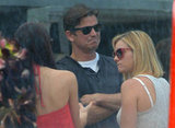 Josh Hartnett enjoyed the sunshine at Joel Silver's Memorial Day party in LA.