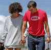 Pictures of Halle Berry and Olivier Martinez Holding Hands