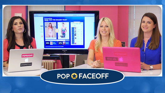 Video: Watch Our Editors Battle It Out in the PopSugar 100 With Our New Game Show — Pop Faceoff!