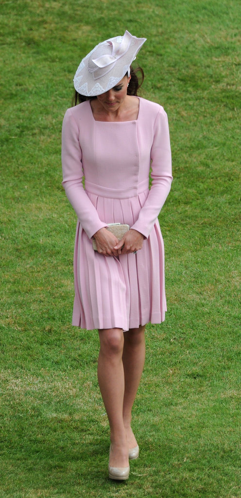 Kate Middleton wore a gorgeous Emilia Wickstead dress.