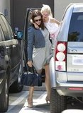 Jennifer Garner gave Violet Affleck a lift in LA.