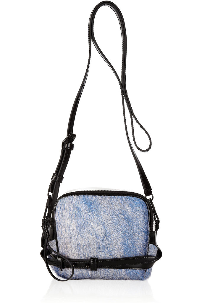 Phillip Lim's calf-hair confection at half the price!  Abichi Calf Hair and Leather Shoulder Bag ($313, originally $625)