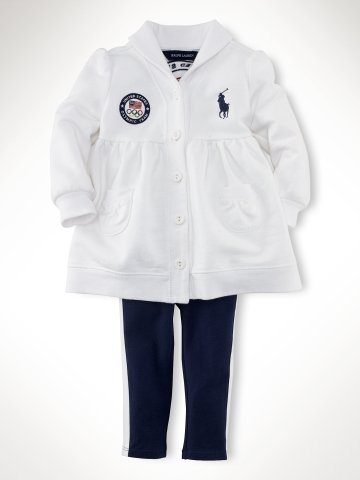 Infant Girls Team USA Tunic and Legging Set ($75)