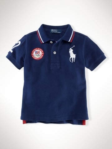 Infant Boys Team USA Mesh Polo ($55)