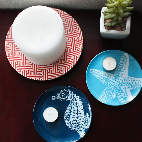 Nautical Decor Plates Pictures