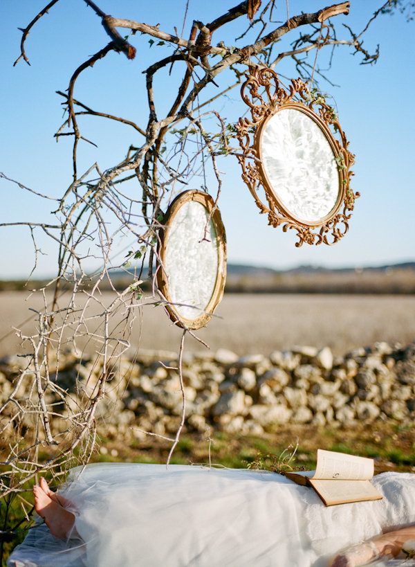 Snow White-Inspired Mirrors