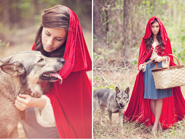Little Red Riding Hood and Her Wolf