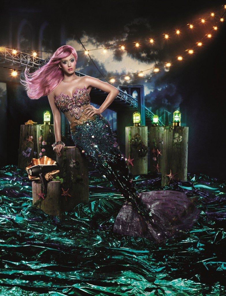 Katy Perry's Mermaid Ad