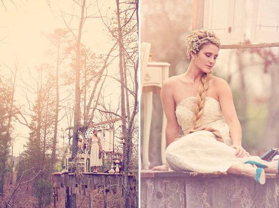 Rapunzel Bridal Style