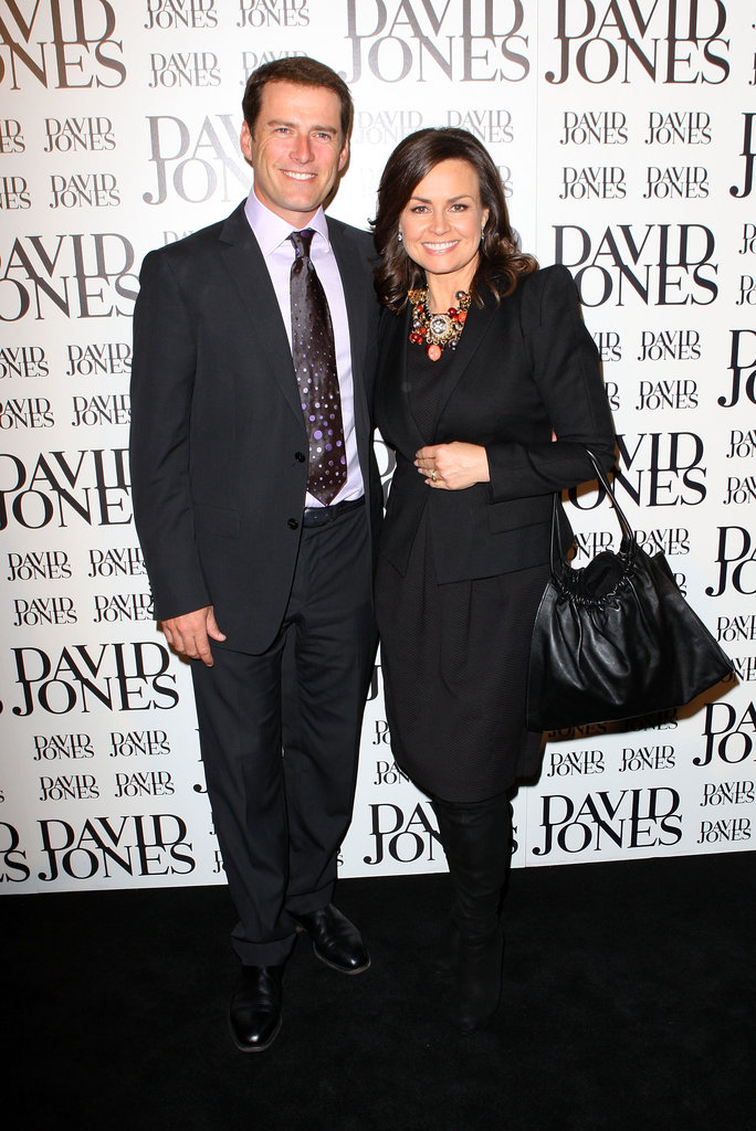 With Karl at David Jones' Spring/Summer 2010 launch in Aug. 2010.