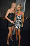 Cameron Diaz and Victoria Beckham chatted backstage in 2007.