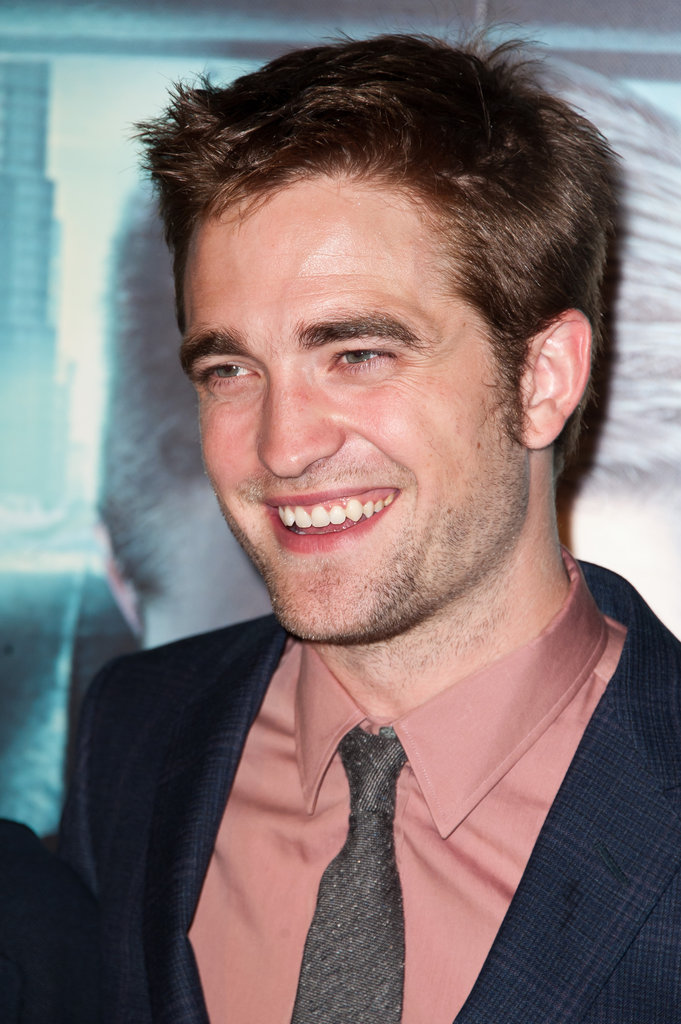 Robert Pattinson looked handsome as ever at the Cosmopolis premiere held at Le Grand Rex.