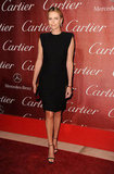 She opted for a cutout Lanvin LBD for the 2012 Palm Springs International Film Festival.