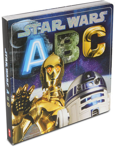 Kids Star Wars ABC Book ($13)