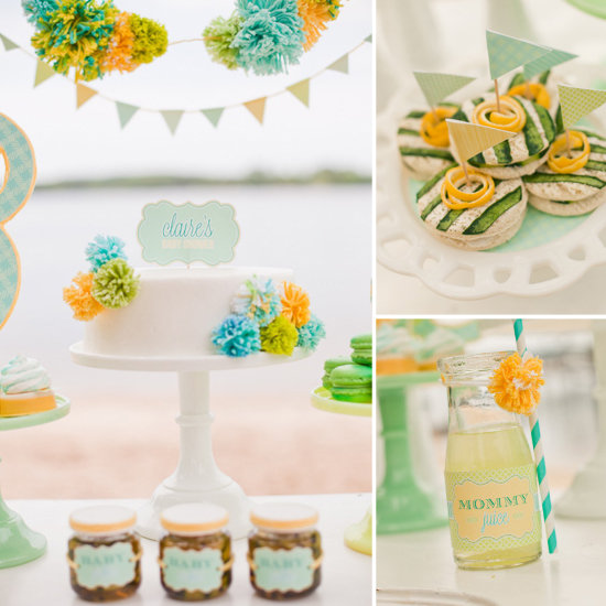 A Breezy Beachside Baby Shower
