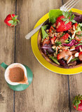 Strawberry Lemon Basil Dressing