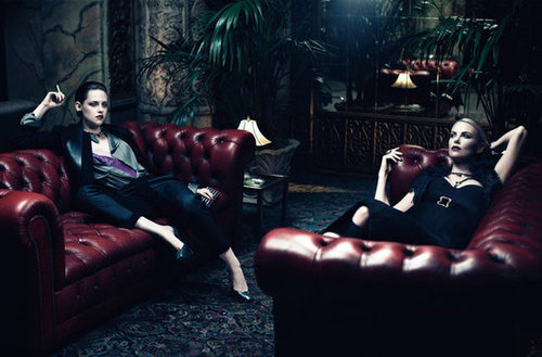 Charlize Theron And Kristen Stewart Wow In Interview Magazine