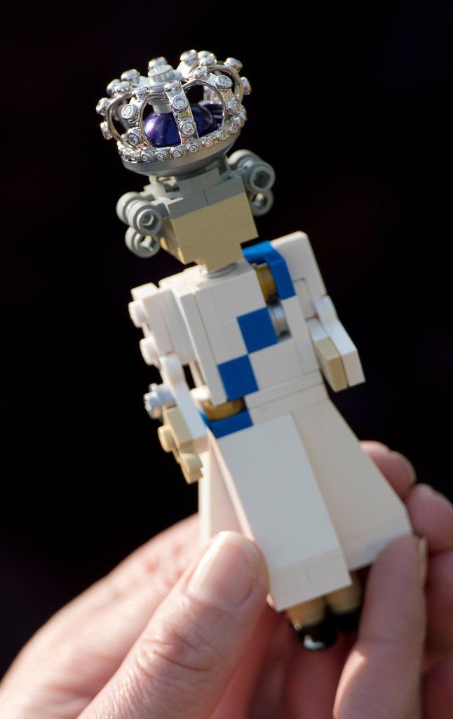 A Diamond Jubilee Lego figure of Queen Elizabeth II was introduced for the celebrations.