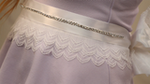DIY: Add an Embellished Belt to Your Wedding Gown