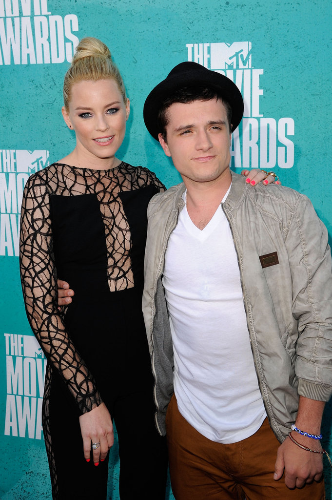 Elizabeth Banks and Josh Hutcherson